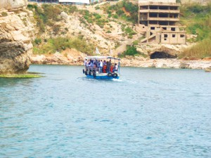 Byblos - an adventure by boat...